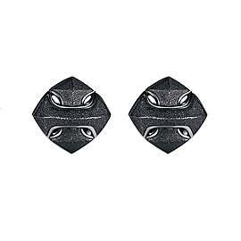 David Yurman Black Sterling Silver Armory Arrow Cufflinks