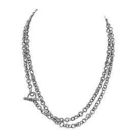 David Yurman Cable Rolo Sterling Silver Chain Necklace