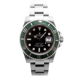 Rolex Submariner 116610LV Green Bezel Stainless Steel Tachymeter 40mm Mens Watch