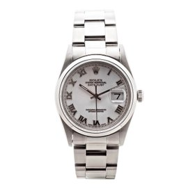 Rolex Datejust 16200 Oyster Perpetual Mother Of Pearl Dial 36mm Mens Watch