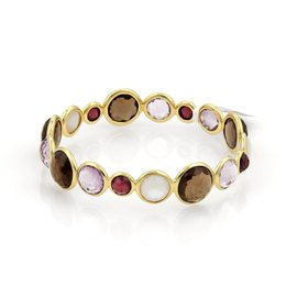 Ippolita 18K Yellow Gold & Gemstone Bangle Bracelet