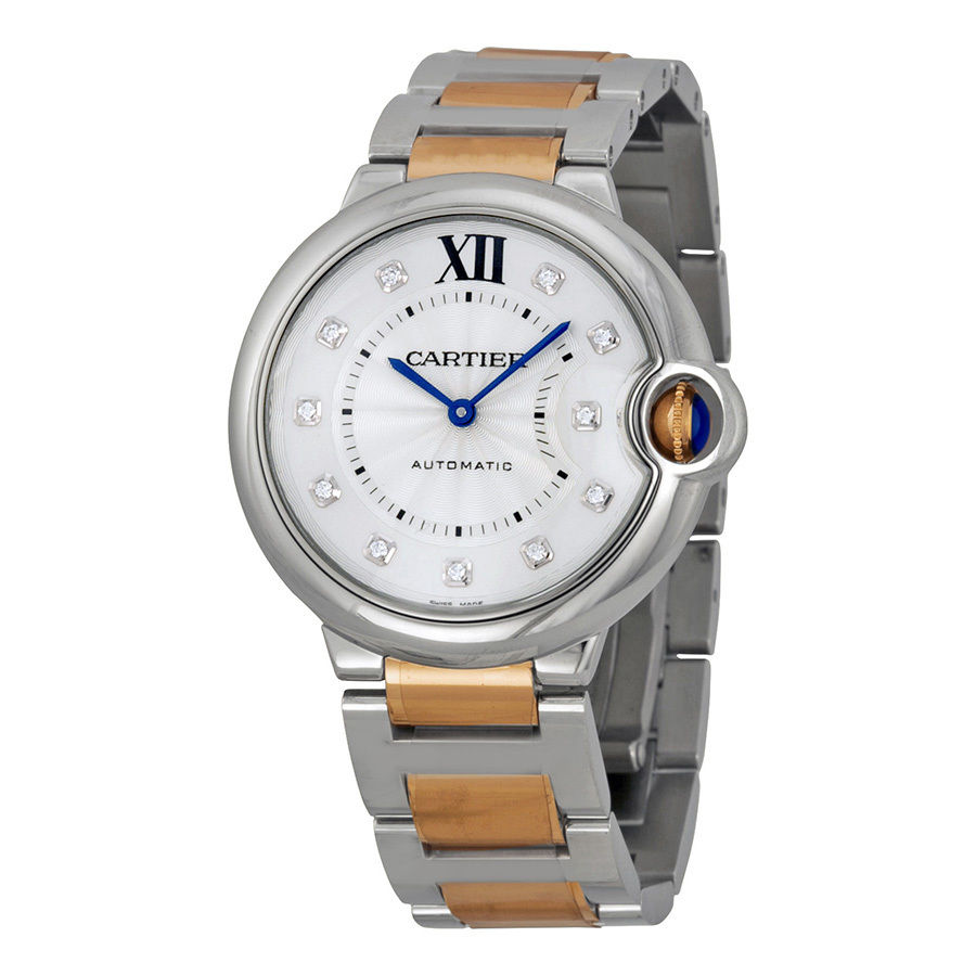 Cartier Ballon Bleu We902031 Automatic Stainless Steel and 18K Rose