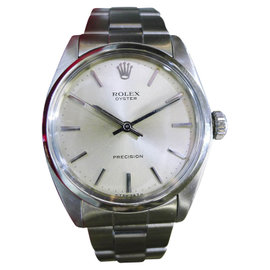 Rolex Oyster Precision 6426 Stainless Steel Vintage 34mm Mens Watch