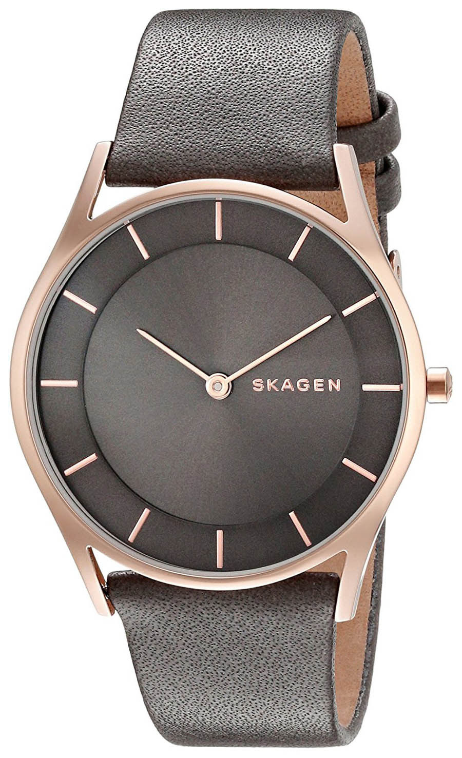 """Image of """"Skagen Skw2346 Rose Gold Stainless Steel 34mm Womens Watch"""""""