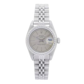 Rolex Datejust 69240 Silver Dial Automatic 26mm Womens Watch