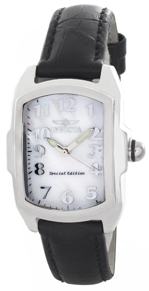 "Image of ""Invicta 19778 Stainless Steel / Leather 31mm Womens Watch"""