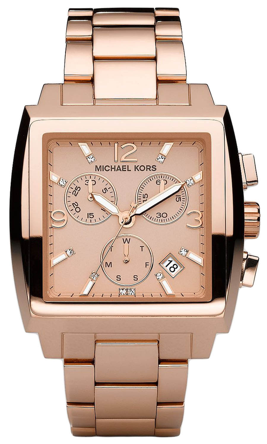 "Image of ""Michael Kors Mk5331 Rose Gold Stainless Steel Rose Gold Dial"""