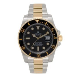 Rolex Submariner 116613 Stainless Steel & 18K Yellow Gold Black Dial Automatic 40mm Mens Watch