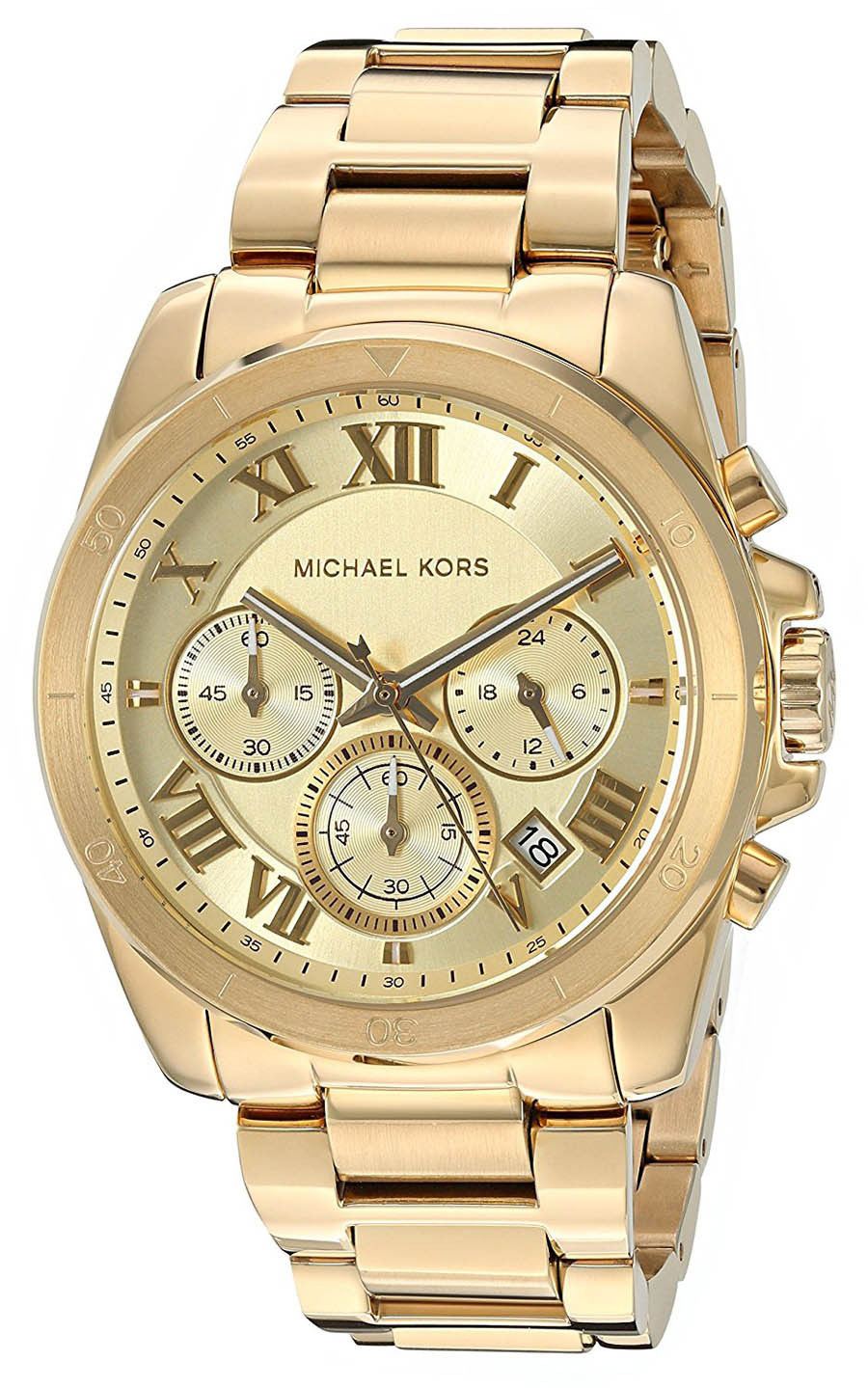 """Image of """"Michael Kors Brecken Mk6366 Gold Tone Stainless Steel with Gold Dial"""""""