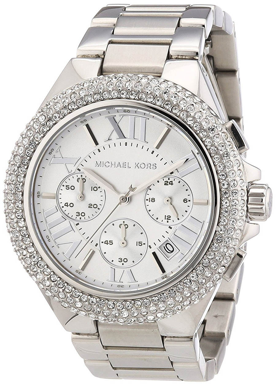 """Image of """"Michael Kors Mk5634 Stainless Steel with Silver Dial 43mm Womens Watch"""""""