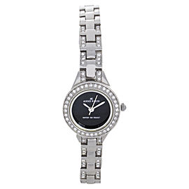 Anne Klein 10/9393BKSV Stainless Steel 20mm Womens Watch