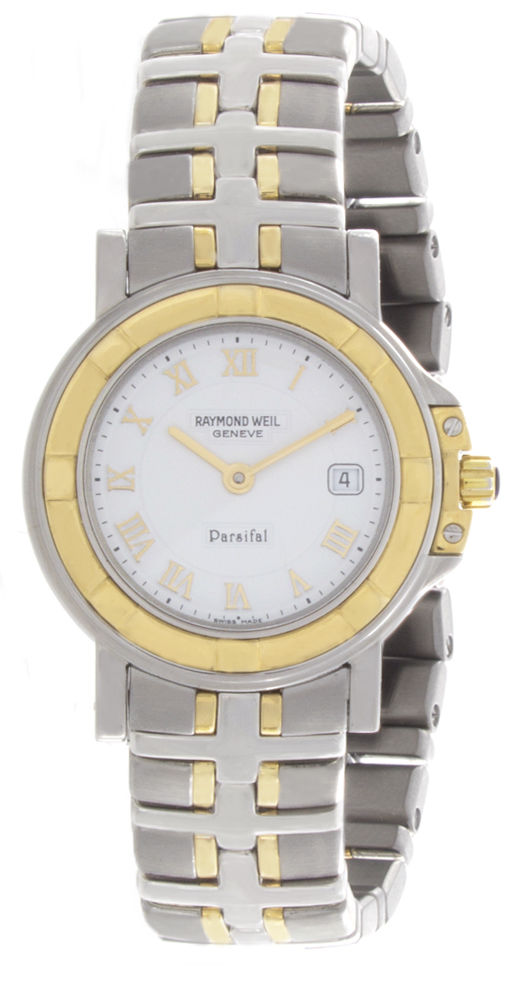 "Image of ""Raymond Weil 9430-stg-00308 Stainless Steel and 18K Gold 28mm Women"""