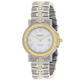 Raymond Weil 9430-stg-00308 Stainless Steel and 18K Gold 28mm Women Watch