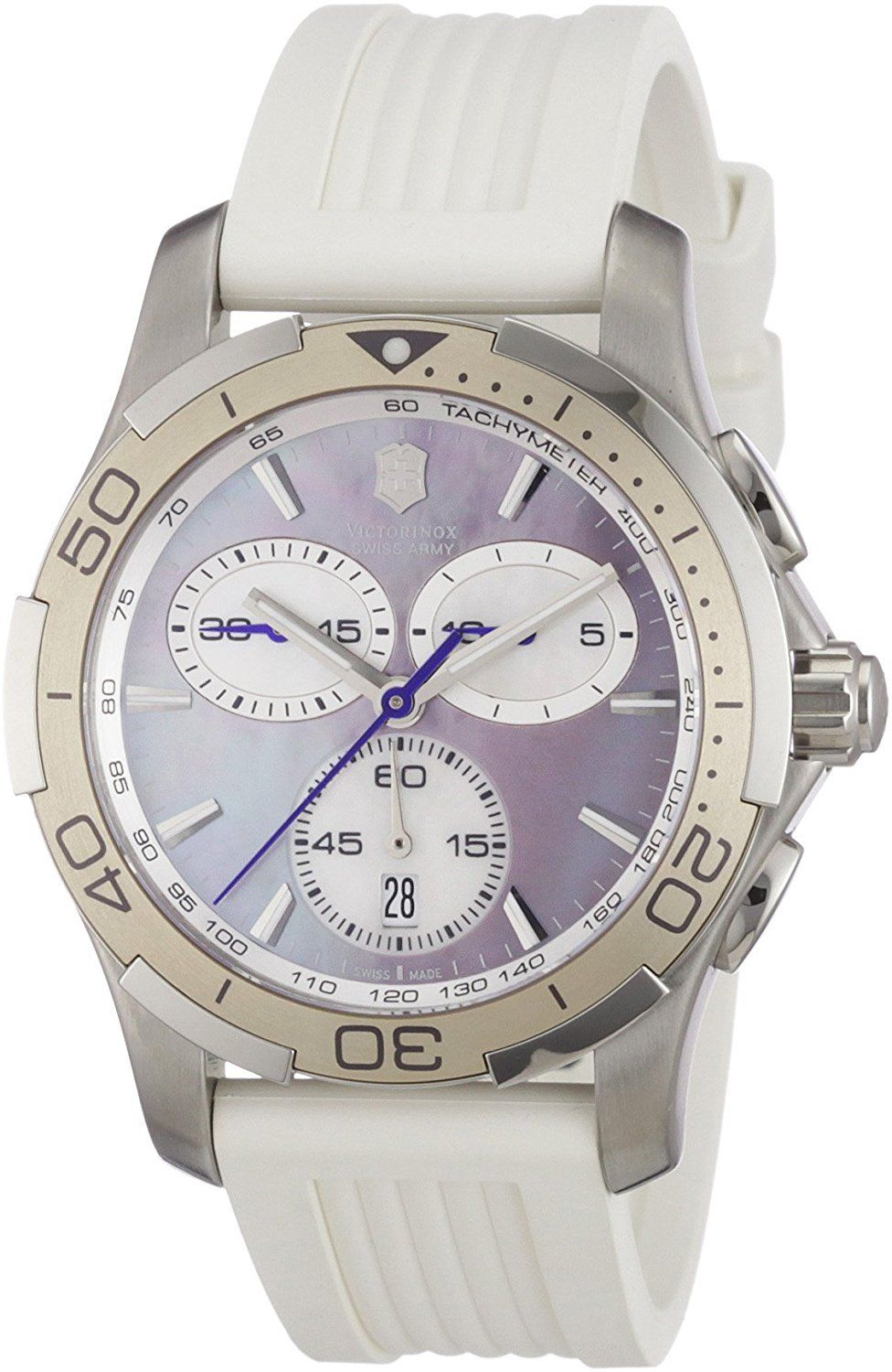 "Image of ""Victorinox Swiss Army 241352 Stainless Steel Quartz 34mm Womens Watch"""
