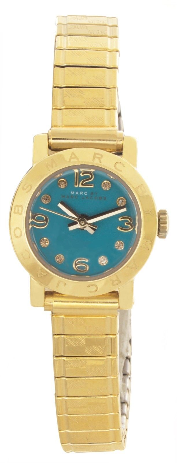 "Image of ""Marc By Marc Jacobs Mbm3229 Gold Tone Stainless Steel 20mm Womens"""