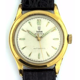 Tudor Oyster Perpetual 14K Yellow Gold and Stainless Steel 36mm Mens Watch