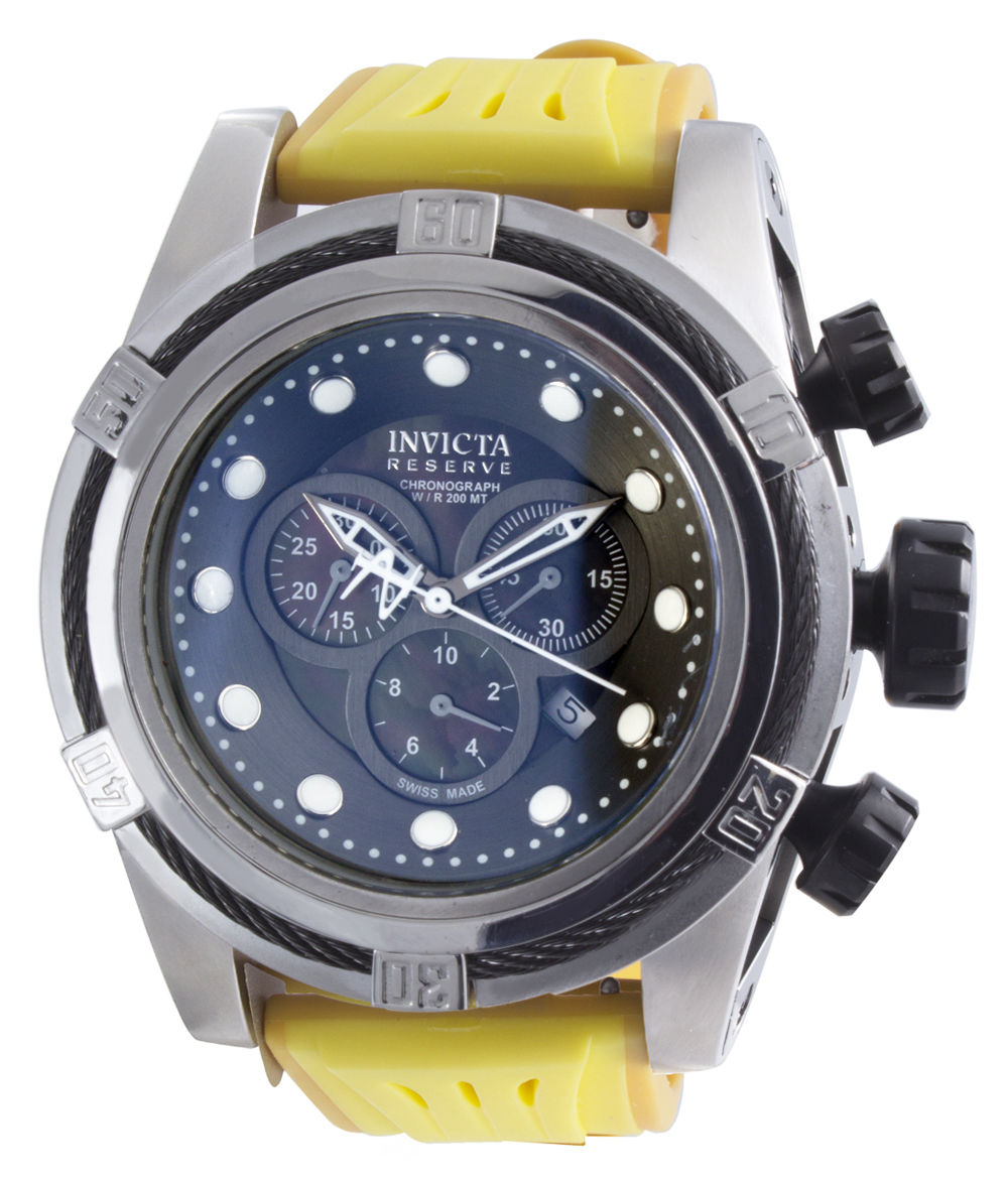 "Image of ""Invicta 0825 Stainless Steel 50mm Mens Watch"""