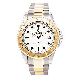Rolex Yacht-Master 168623 Two Tone Stainless Steel 34mm Unisex Watch