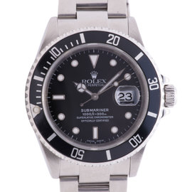 Rolex Submariner 16610 Stainless Steel 40mm Mens Watch