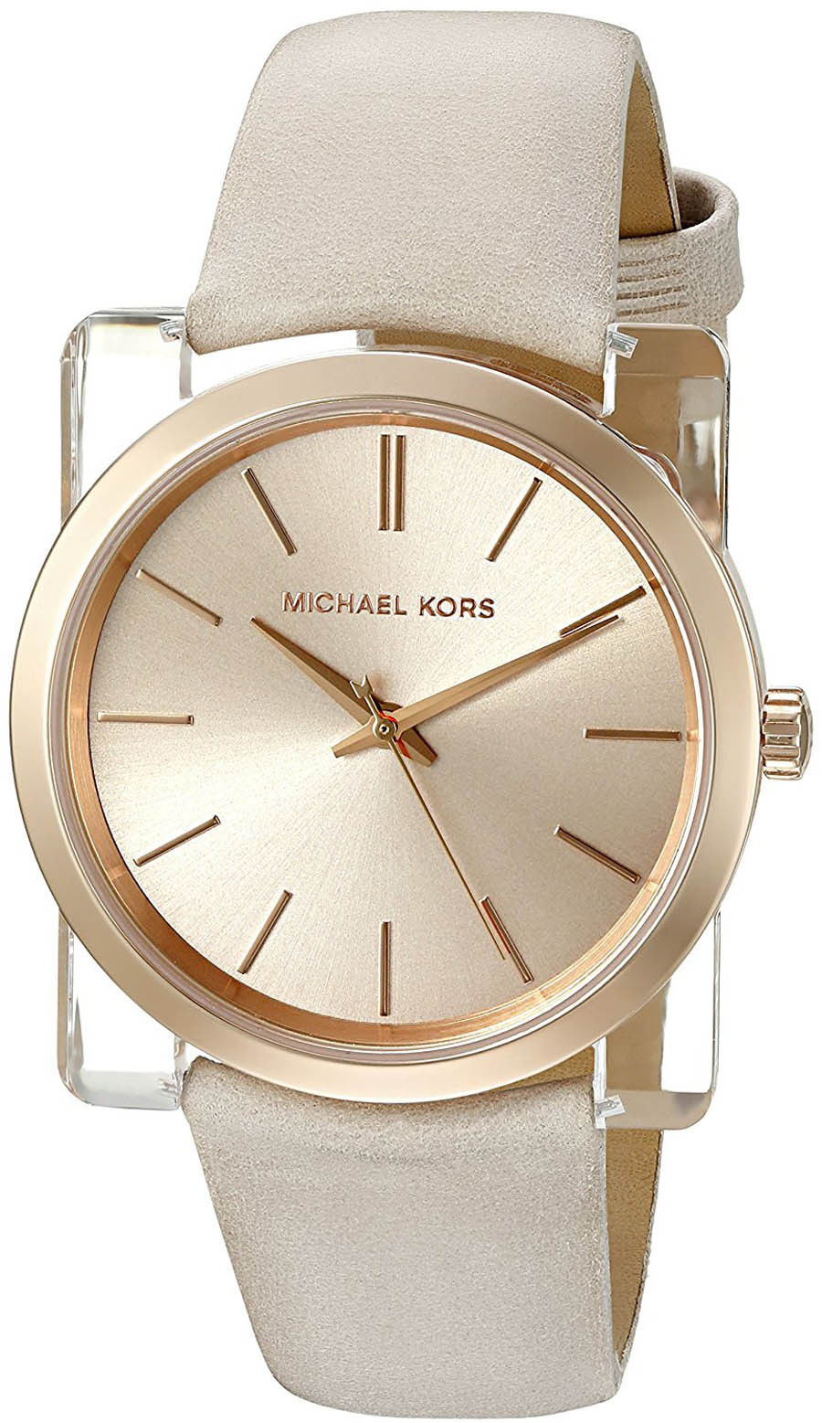 """Image of """"Michael Kors Mk2486 Rose Gold Stainless Steel 39mm Womens Watch"""""""