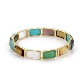 Ippolita Rock Candy 18K Yellow Gold Bangle Bracelet