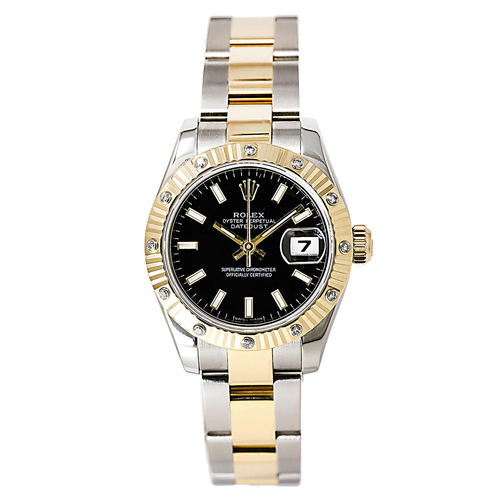 "Image of ""Rolex Datejust 179313 Stainless Steel / 18K Yellow Gold 26mm Womens"""