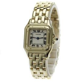Cartier Panthere 18K Yellow Gold Quartz 22mm Womens Watch