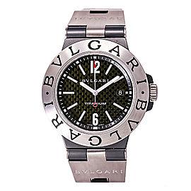 Bulgari Diagono TI44tA Rubber / Titanium Automatic 44mm Mens Watch