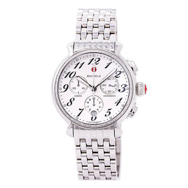 Michele Fluette MW24A01A1966 Stainless Steel White Dial 36mm Womens Watch