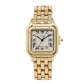 Cartier Panthere W25028B6 18K Yellow Gold Quartz 26mm Unisex Watch