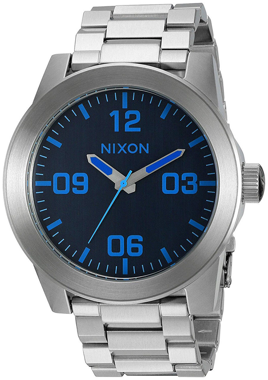 "Image of ""Nixon A346-2219 Stainless Steel Quartz 48mm Mens Watch"""