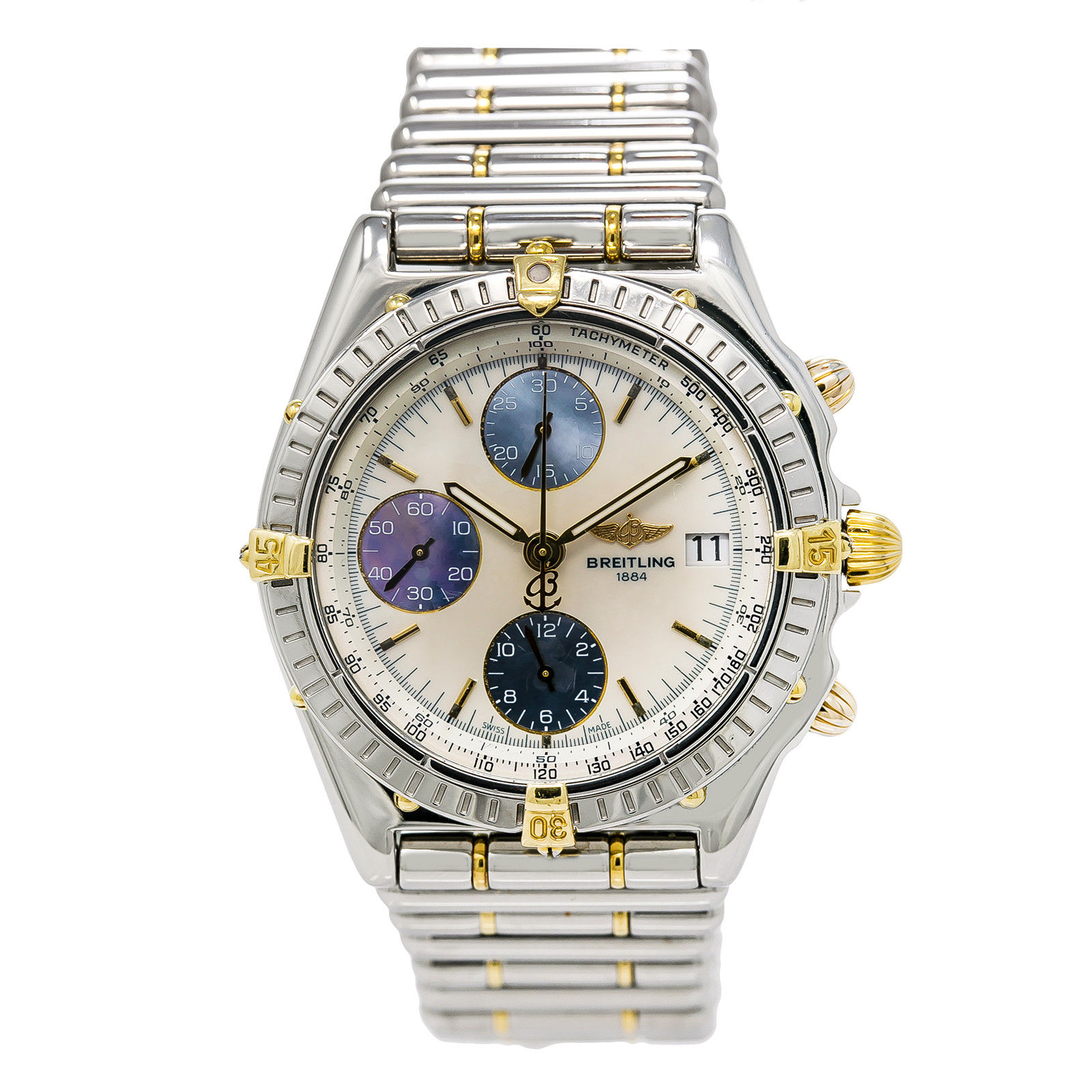 """Image of """"Breitling Chronomat B13050.1 Stainless Steel Automatic 39mm Mens Watch"""""""