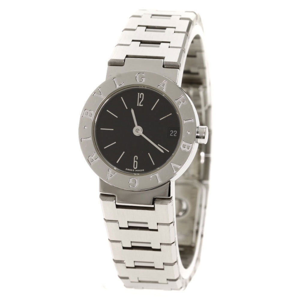 "Image of ""Bulgari Bvglari Bb23Ssd Stainless Steel Quartz 23mm Womens Watch"""