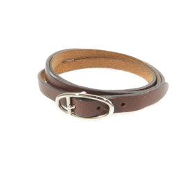 Hermes Leather Triple Winding Bracelet