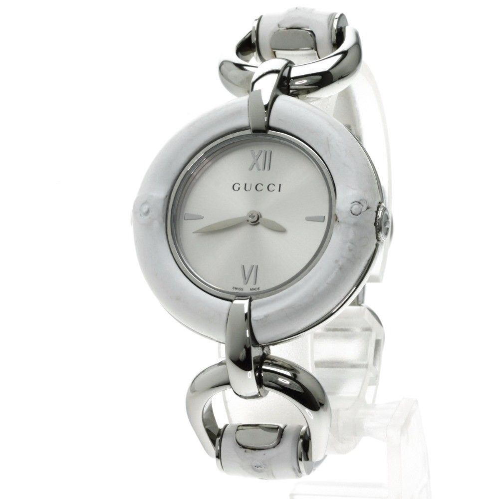 """Image of """"Gucci YA 132.4 Stainless Steel 36mm Women's Watch"""""""