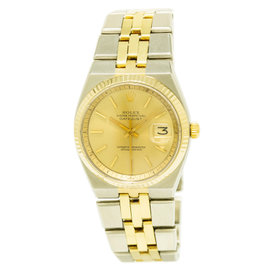 Rolex Datejust 1630 Stainless Steel / 18K Yellow Gold Automatic Vintage 36mm Mens Watch