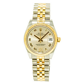 Rolex Datejust 178273 Stainless Steel / 18K Yellow Gold Automatic 31mm Womens Watch