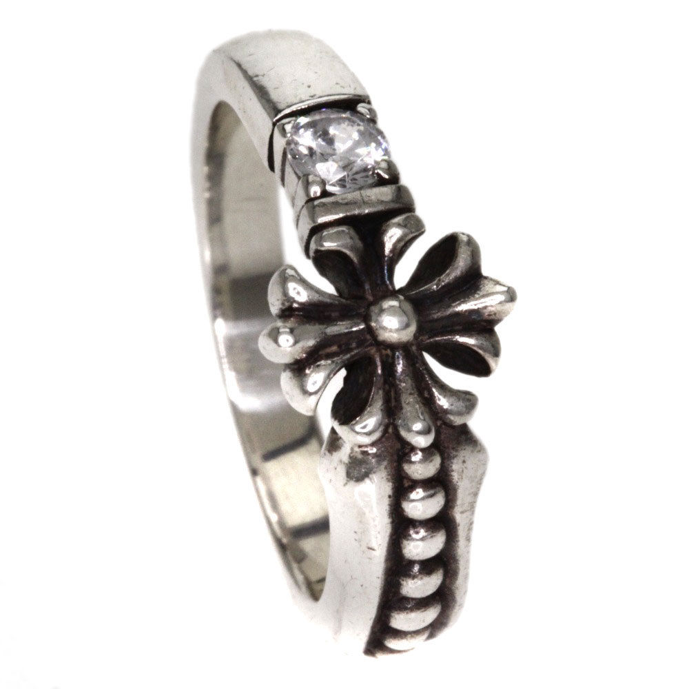 """Image of """"Justin Davis 925 Sterling Silver Ashlet Cubic Ring Size 3.5"""""""