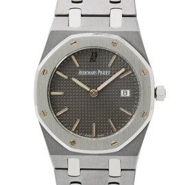 Audemars Piguet Royal Oak 56175tt/o/0789tt/01 Titanium Quartz 36mm Mens Watch