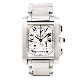 Cartier Tank Francaise 2303 Stainless Steel Quartz 28mm Unisex Watch