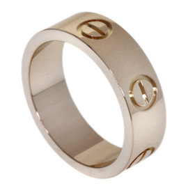 Cartier Love 18K Pink Gold Ring Size 4.25