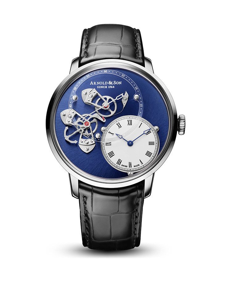 "Image of ""Instrument Dstb Steel Blue Watch"""