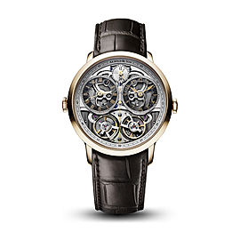 Instrument DBG Skeleton Rose Gold Watch