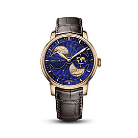 Royal HM Double Hemisphere Perpetual Moon Rose Gold Watch