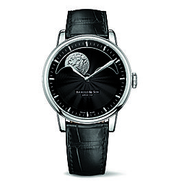 Royal HM Perpetual Moon Steel Black Dial Watch
