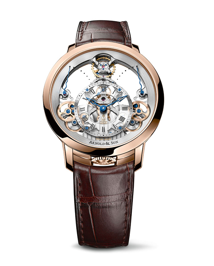 "Image of ""Instrument Time Pyramid Rose Gold Watch"""