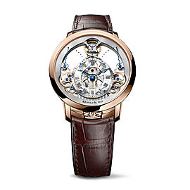 Instrument Time Pyramid Rose Gold Watch