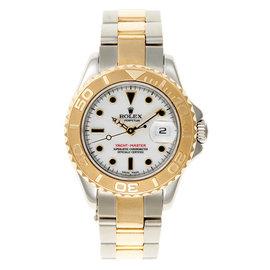 Rolex Yacht Master Two Tone Ladies Watch