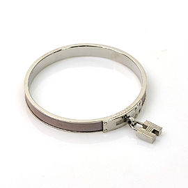 Hermes Metal Leather Bangle Bracelet