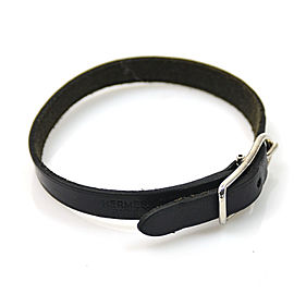 Hermes Leather And Metal Bracelet